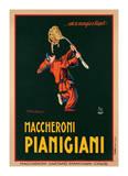 Maccheroni Pianigiani, 1922 Giclée-tryk af Achille Luciano Mauzan