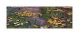 Wasserlilien Giclée-Druck von Claude Monet