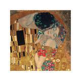 接吻, 1907(詳細) ジクレープリント : グスタフ・クリムト