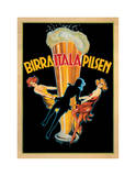 Birra Itala Pilsen 1920 Ca. Giclée-tryk af Leonetto Cappiello