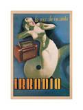 Irradio, 1939 Impressão giclée por Gino Boccasile