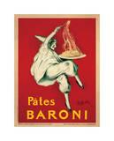 Pâtes Baroni, vers 1921 Reproduction procédé giclée par Leonetto Cappiello