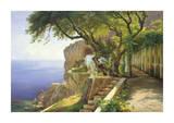 Pergola in Amalfi Impressão giclée por Carl Frederic Aagaard