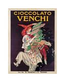 Venchin suklaata, italiaksi Giclée-vedos tekijänä Leonetto Cappiello