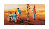 Apres-Midi en Afrique Giclee Print by Jaques Beaumont