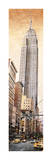 The Empire State Building Reproduction procédé giclée par Matthew Daniels