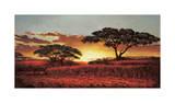 Memories of Serengeti Giclée-tryk af  Madou