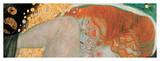 Danae (detail) Lámina giclée por Gustav Klimt