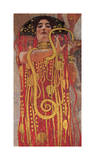 Hygieia (detail from Medicine) Impressão giclée por Gustav Klimt