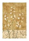 Blossoms in Gold II Reproduction procédé giclée par Chris Donovan