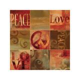 Peace Sign Reproduction procédé giclée par Luke Wilson