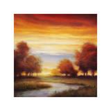Sundown I Gicléetryck av Gregory Williams