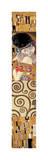 Collage Panel II Giclée-tryk af Gustav Klimt