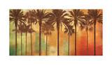 Palm Paradise Impressão giclée por John Seba