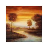 Sundown II Gicléetryck av Gregory Williams