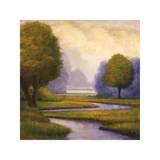 Lavender Sunrise I Gicléetryck av Gregory Williams