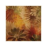 Sunlit Palms II Impressão giclée por John Seba