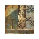 Palm Garden I Impressão giclée por John Seba
