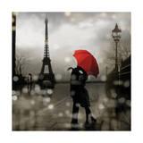 Paris Romance Impressão giclée por Kate Carrigan