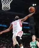 Boston Celtics v Houston Rockets Foto von Bill Baptist