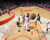 Boston Celtics v Houston Rockets Foto von Bill Baptist