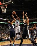 Memphis Grizzlies v Charlotte Hornets Foto af Kent Smith
