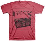 Run DMC - Sketch Boombox Tシャツ
