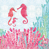 Seahorses Posters by Sarah Millin