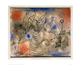 With the Snake, 1924 Giclee Print by Paul Klee