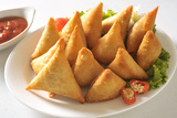 Meat Samosa Photographic Print by  highviews
