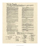 Constitution Document Giclee Print