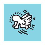 Flying Baby Gicléedruk van Keith Haring