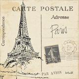 Postcard Sketches III Kunst af Anne Tavoletti
