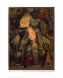 A Young Lady's Adventure, 1922 Reproduction procédé giclée par Paul Klee