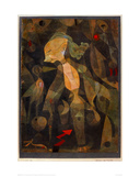 A Young Lady's Adventure, 1922 Giclee Print by Paul Klee