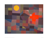 Fire by Moonlight, 1933 Giclee Print by Paul Klee