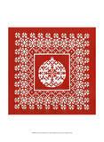 Fair Isle Snowflake IV Stampe di Chariklia Zarris