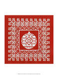 Fair Isle Snowflake VI Stampe di Chariklia Zarris