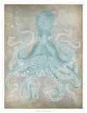 Spa Octopus I Giclee Print by Jennifer Goldberger