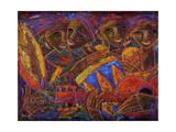 Musas Del Caribe Giclee Print by Oscar Ortiz