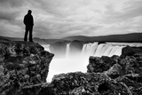 Iceland Waterfall Reproduction photographique par Nina Papiorek