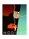 Modiano Cig Giclee-trykk