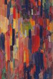 Mme Kupka among Verticals Giclée-tryk af Frantisek Kupka