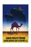 Linja Palestynska Giclée-Druck