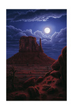 Navaho Moon Giclee Print by R.W. Hedge