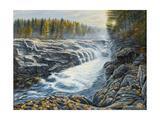 Massachusetts Gorge Lámina giclée por Bruce Dumas