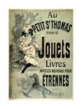 Jouets 1889 Lámina giclée