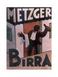 Metzger Birra Giclée-tryk