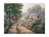 Lilac Morning Lámina giclée por John Zaccheo