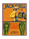 Jack and Jill Brand Peppers Giclee Print